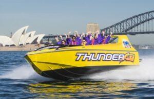 Thunder Jet Sydney Harbour